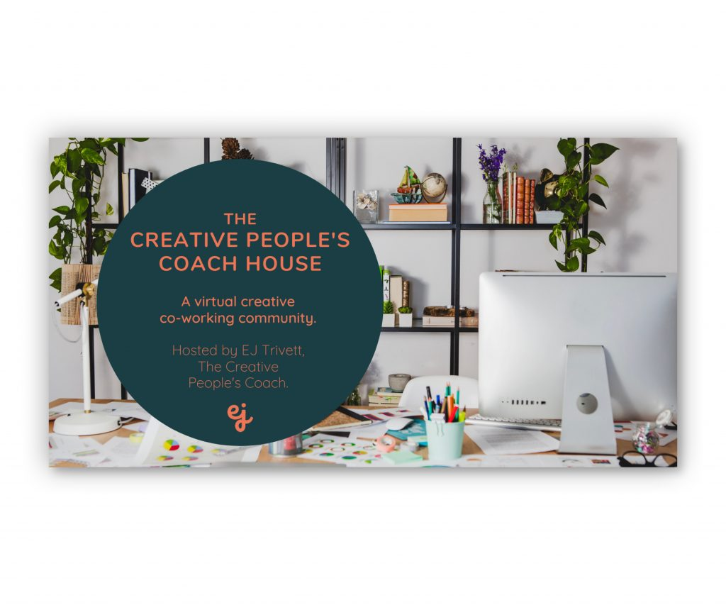 Amy Manning Brand Design, Logo Design for EJ Trivett - The Creative People's Coach